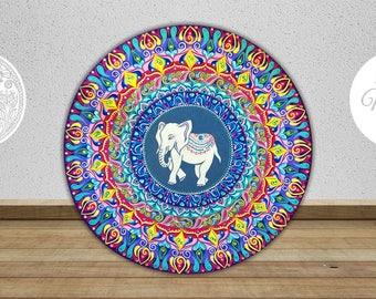 White elephant mandala