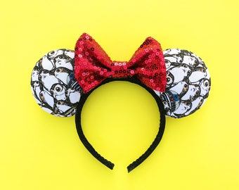 Porg Mickey Ears Star Wars Disney Inspired Minnie Ears