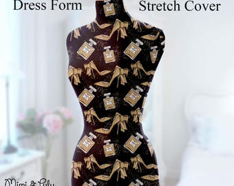 Dress Form Cover Mannequin Cover Dress Form Stretch Cover Mannequin Stretch Cover Personalised