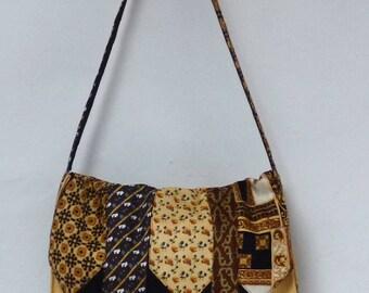 Neckwear silk and polyester, Messenger style bag - shoulder