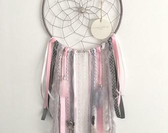 Dream catcher - Dreamcatcher - grey/Pink/White