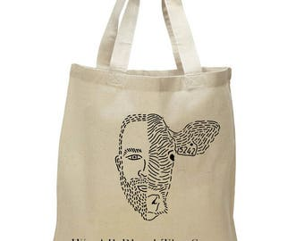 We All Bleed The Same -  Tote - Natural