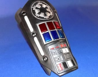 Star Wars Inspired Leather Imperial Comm Pad Bracer