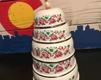 GMI Vintage Rose Nesting Bowls