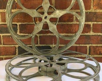Vintage Art Deco Peerless Movie Reels