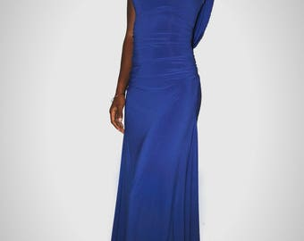Dark Blue Prom/ Homecoming/ Evening Dress
