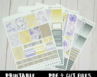 Dwell In Possibility Weekly Kit PRINTABLE Stickers