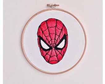Spiderman Embroidery