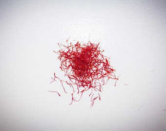 Saffron Threads, Gluten Free, Family Farmed, 0.5 gram