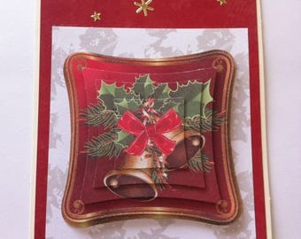Holiday Bells 3D card