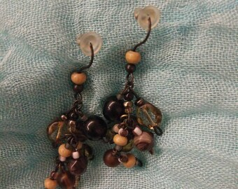 Earrings Greek muscat