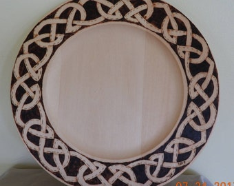 Celtic Knot Plate