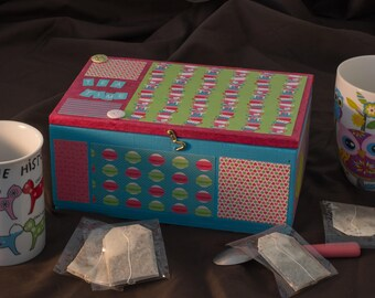 Box for six tea bags