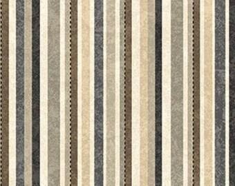 A Stitch in Time Slate Stripes Fat Quarter