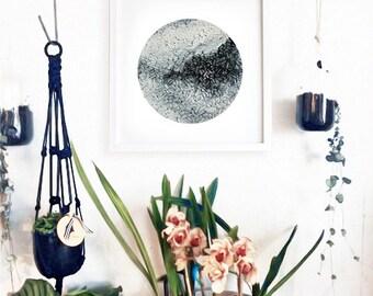 Abstract Painting | Modern Art | Cheap Art | Black & White | Oil Painting | Art Print | Texture | Art