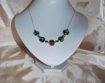 """""""Tutti frutti"""" necklace."""