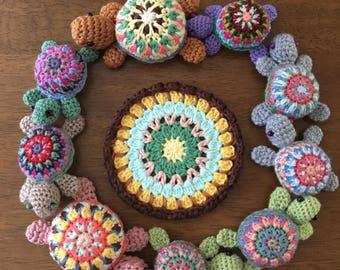 Crochet turtles