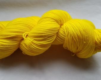 Sunshine - Platinum Sock - 80/20 Superwash Merino/Nylon - 100g skein of 4ply/sock yarn