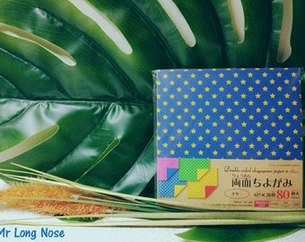 80 sheets double sided origami paper CHIYOGAMI PAPER 15*15 cm