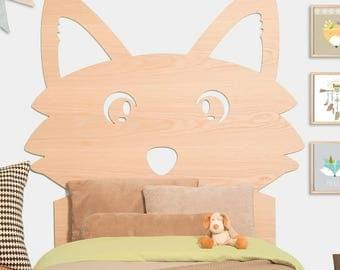 Fantastic Mr Fox headboard