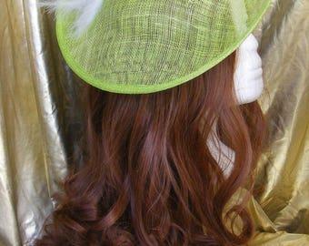 Green percher hat