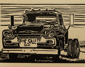 Old Chevy Truck for sale