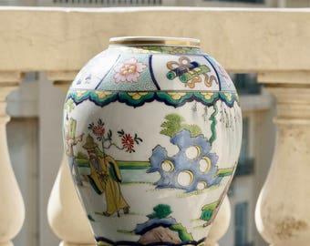 Vase en céramique esprit chinois