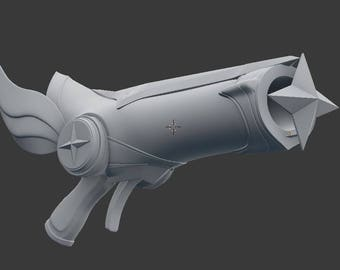 Star Guardian Miss Fortune Gun , League of Legends , LOL , 3D print Model