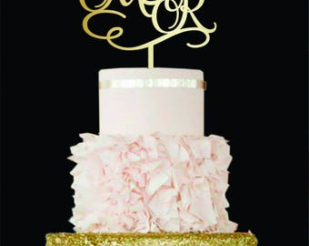 Wedding Cake Topper Letter M cake topper Initials Cake Topper R Personalised Topper M Wood cake topper letter R K J  cake topper gold rustic