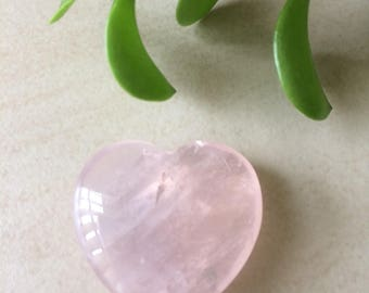 Rose Quartz Crystal Heart