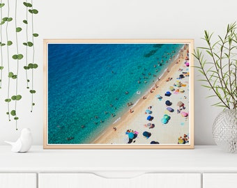 SALE 20% OFF! Beach poster, Beach print, Beach photo, Ocean print, Ocean poster, Beach wall art, Beach photo prints, Beach decor