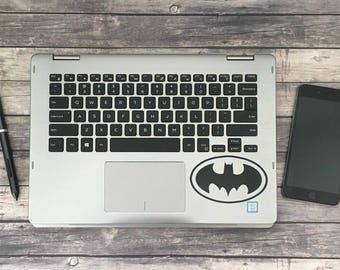 Batman decal, laptop sticker, batman vinyl decal, Vinyl Laptop Decal Sticker, superhero sticker, small batman sticker