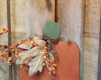 Simple Hanging Pumpkin