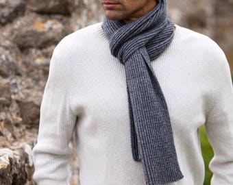 Gents cashmere scarf