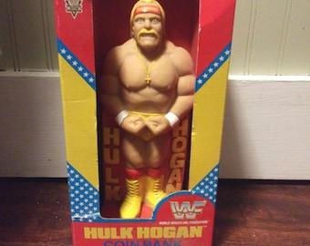 Hulk Hogan Vintage 1991 Rare Coin Bank NEW IN BOX