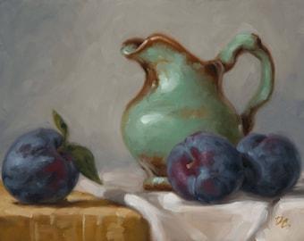 Ripe - Fine Art Giclee Print - Original Oil Painting - Still Life - Kitchen Decor