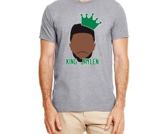 Boston King Jaylen high quality T-shirt