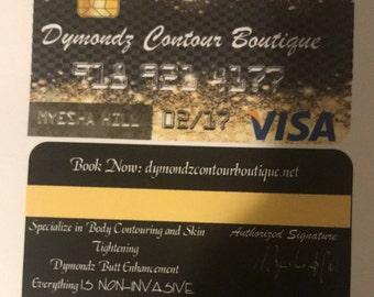 Credit Card Invitation Template via Microsoft Word