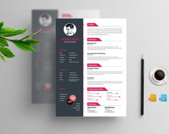 Creative Clean Resume CV