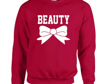 Beauty Cool Adult Printed Sweater Design Clothing Unisex Sweatshirt Crew Neck for Women and Men