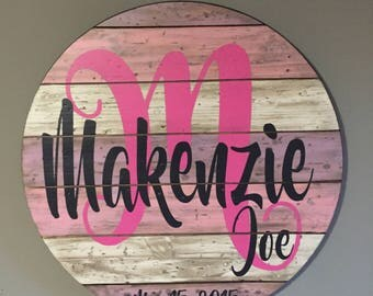 CUSTOM wood name sign! Hand made to order. great for kids room or nurery. art beautiful wall decor photography  WICKED FOREST
