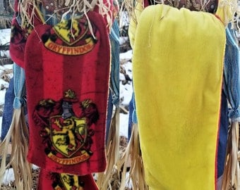 Harry Potter, Gryffindor, Slytherin, Ravenclaw, Hufflepuff, Star Wars, Wonder Woman, and Dr. Who Fleece Scarf, Scarves, Shawl, Wrap.