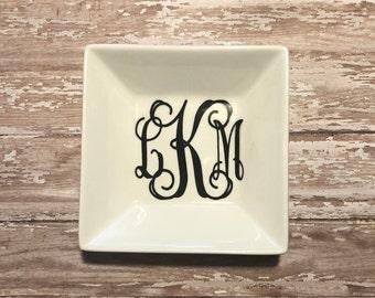 Monogram Keys/Jewelry Dish