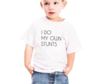 2 year old gift, 2 year old boy, kids stuntman shirt, toddler gift, toddler tshirt