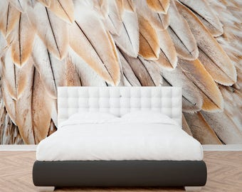 Panoramic feathers - sands 4 widths available (see description), fixed height 260 cm (made in France) delivered within 10 days