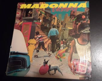 """Madonna Vinyl """"Everybody"""" 1982"""
