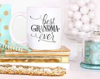 Mug - Gift For Grandma - Grandma Mug - Grandma Gift - Grandparents - Coffee Mug With Sayings - Coffee Lovers Gift  - Gift For Her