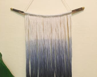 Hand Dip-Dyed Tapestry