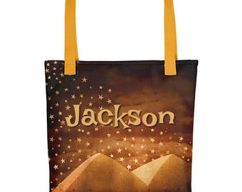 Personalized Overnight Bag Beach Bag Shopping Bag Craft Bag Version 4
