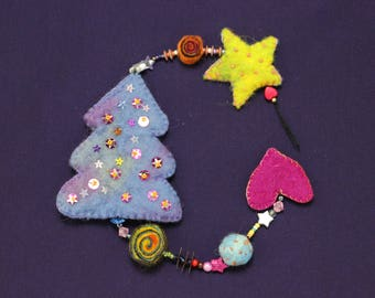 Magical Christmas Garland-enchanting Christmas garland K04